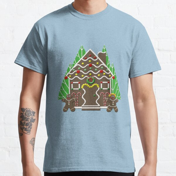 Holiday Gingerbread House Classic T-Shirt