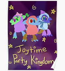 Joytime Party Kingdom Poster Poster