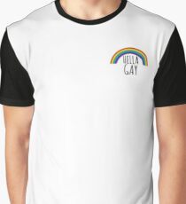 Hella Gay Graphic T-Shirt