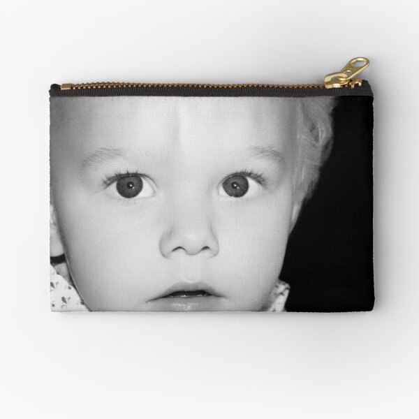 heres looking at you kid Zipper Pouch