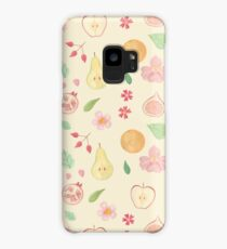 Fruit and Flora Case/Skin for Samsung Galaxy