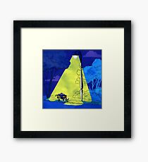 Under The Streetlamp Framed Print
