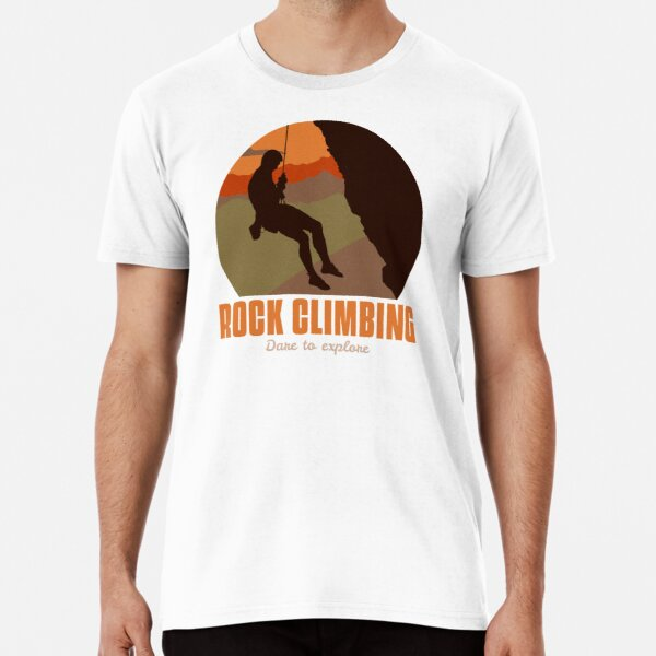 Rock Climbing Premium T-Shirt