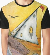 Wrecked Boat Graphic T-Shirt
