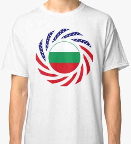 Bulgarian American Multinational Patriot Flag Series Classic T-Shirt