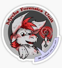 myche forensics unit Sticker