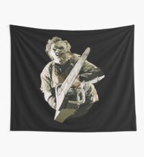 Texas Chainsaw Wall Tapestry