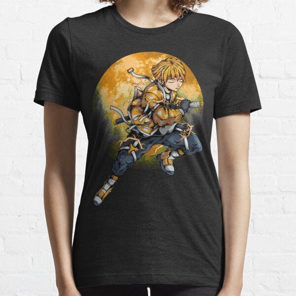 Demon slayer kimetsu no yaiba zenitsu Essential T-Shirt