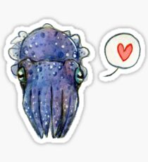 Cuttle Love Sticker