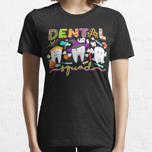 Zahnarzt Zahnarzt Halloween Boos Crew Lustiges Kostüm Essential T-Shirt