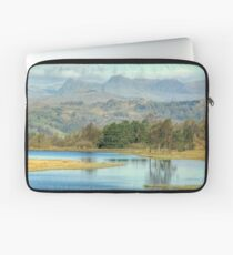 The Langdale Pikes from Wise Een Tarn Laptop Sleeve