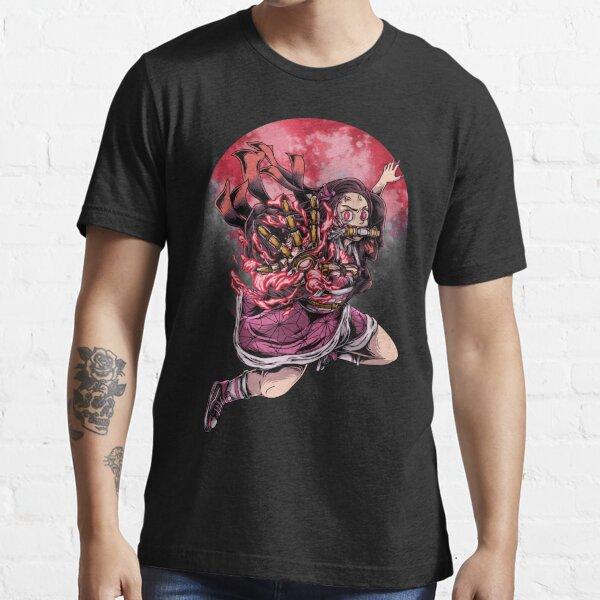 Nezuko kamado mecha cyberpunk kimetsu no yaiba demon slayer Essential T-Shirt