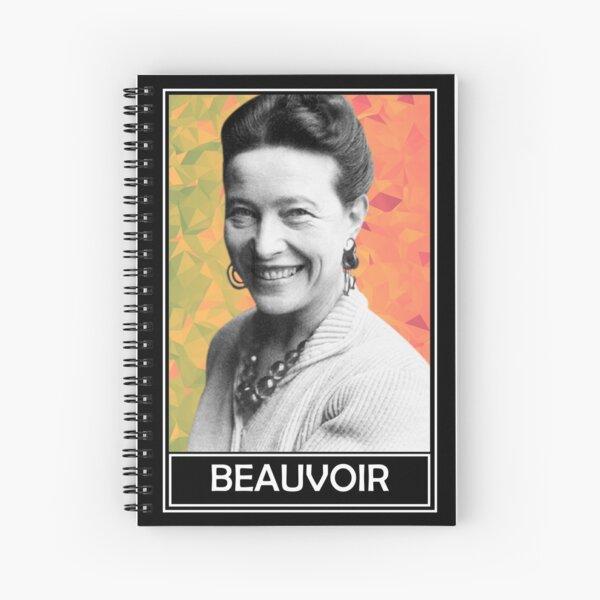 Simone de Beauvoir Cuaderno de espiral