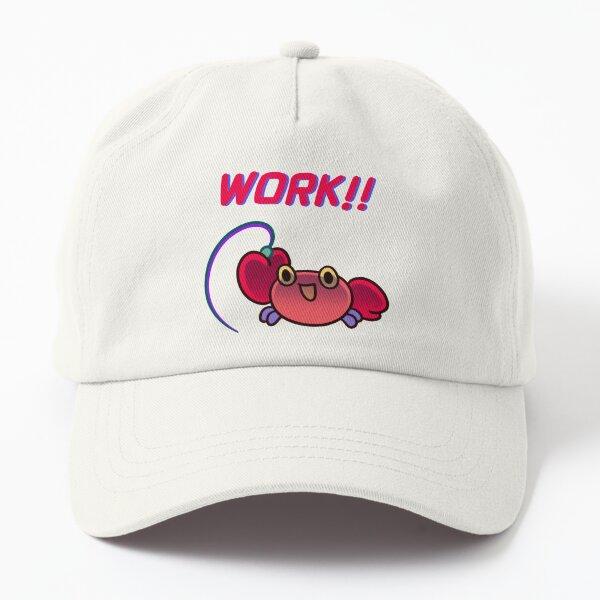 Crabby crab - work hard Dad Hat