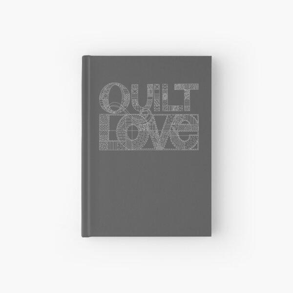 Quilt Love line drawing illustration Hardcover Journal