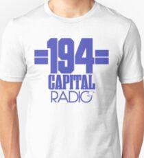 Capital Radio (1) - blue print T-Shirt