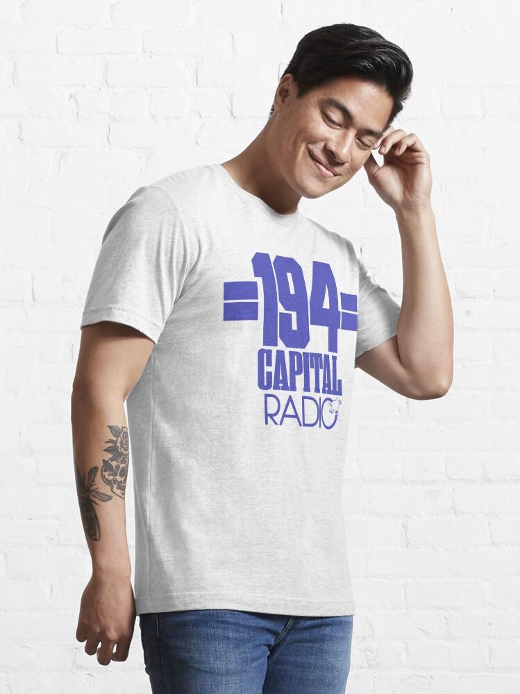 Alternate view of NDVH Capital Radio (1) - blue print Essential T-Shirt