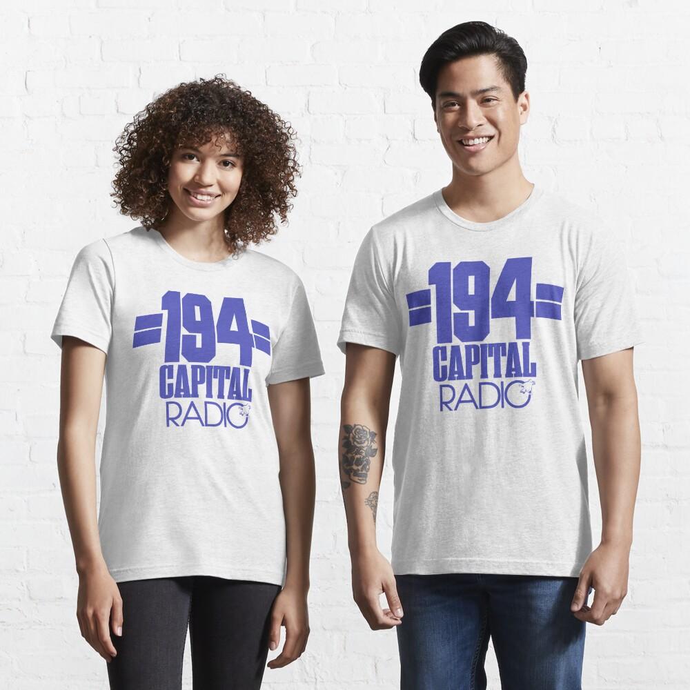 NDVH Capital Radio (1) - blue print Essential T-Shirt