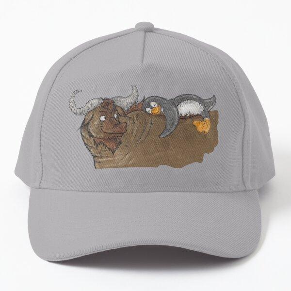 GNU & Tux Love Baseball Cap