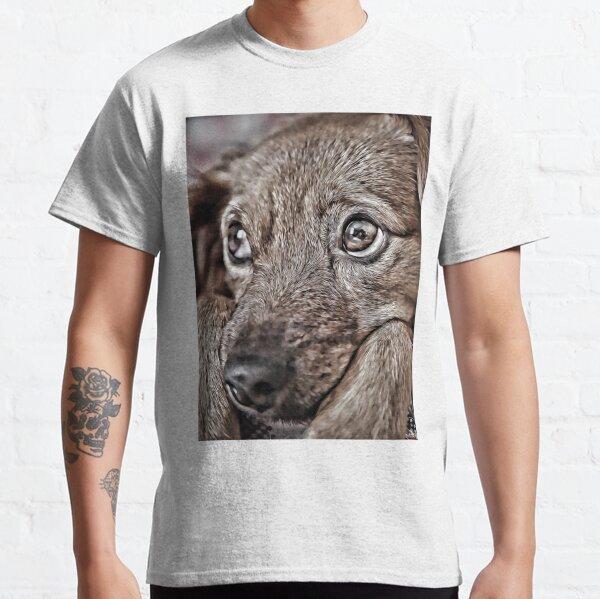 Cute Dog Digital Art Styles Classic T-Shirt