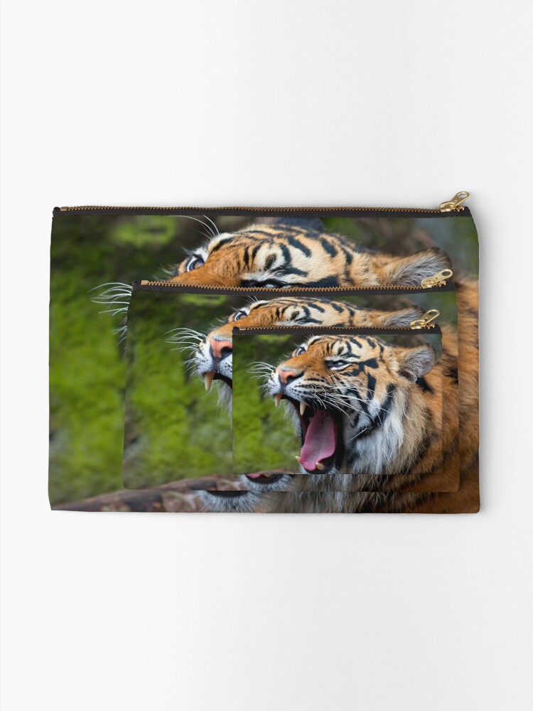 Alternate view of Wild Thing Zipper Pouch