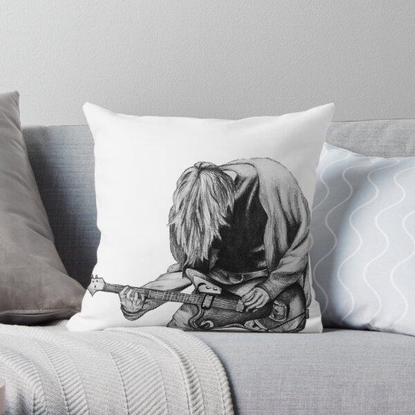 Negative Creep Throw Pillow