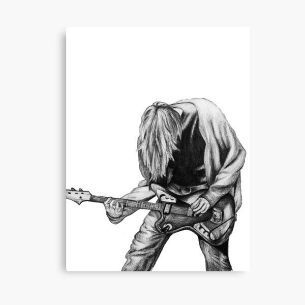 Negative Creep Canvas Print