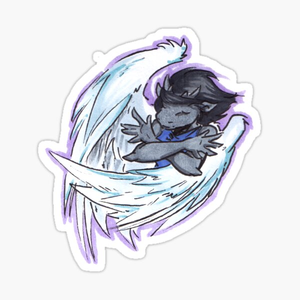 solla's wings Sticker
