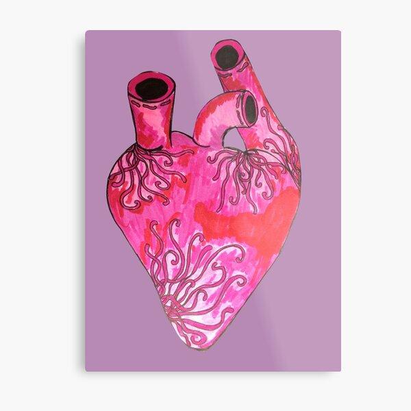 zen heart Metal Print