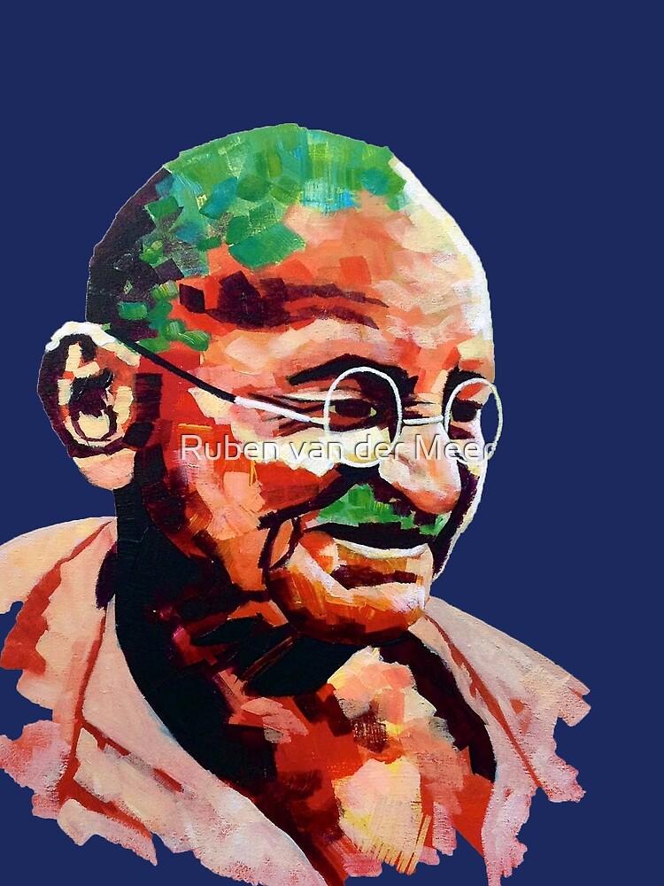 Mahatma Gandhi by RubenMeer