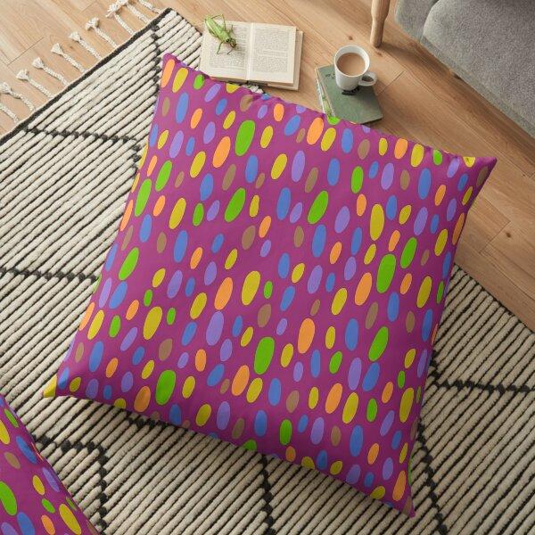 Splatter of Colours Pattern Floor Pillow