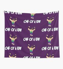 One of a KIND!   Rob Van Dam Wall Tapestry