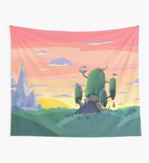 Sunset Time Wall Tapestry