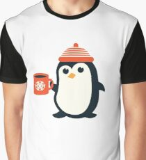 Penguin the Cute Penguin Winter Adorable Animal Graphic T-Shirt