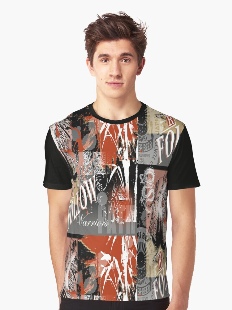 bamboo Graphic T-Shirt Front