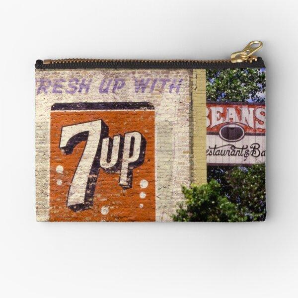 7-Up on Bean's Diner, Austin, Texas Zipper Pouch