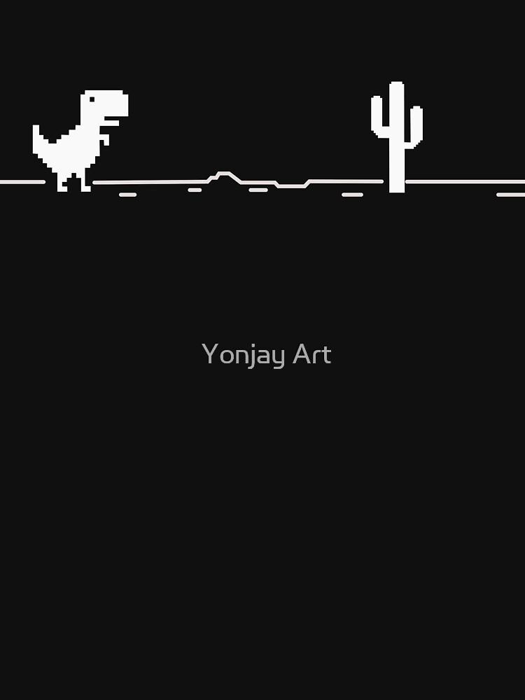 Google Chrome Dinosaur Game by Kihaduwege
