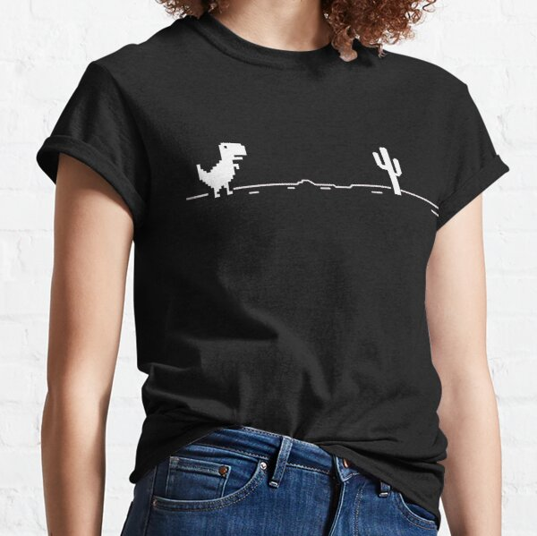 Google Chrome Dinosaur Game Classic T-Shirt
