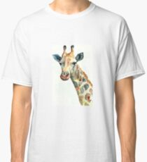 plain giraffe my digital art Classic T-Shirt