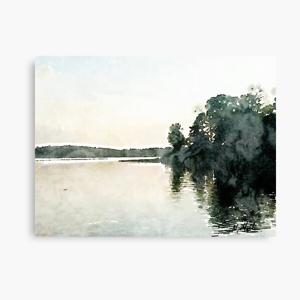Lay Lake Alabama Sunset Canvas Print