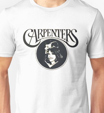 Carpenters 1978 Yesterday Once More logo design! Unisex T-Shirt