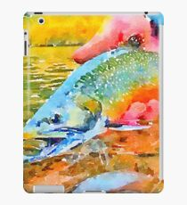 Rainbow Trout Release iPad Case/Skin