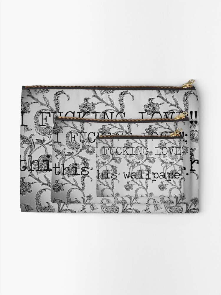 Alternate view of WALLPAPER? Zipper Pouch