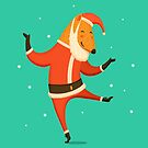 Santa Fox by Greyish