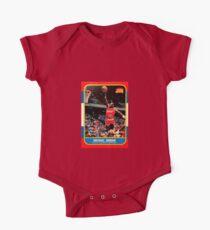 Michael Jordan Chicago Bulls NBA Basketball Rookie Card One Piece - Short Sleeve