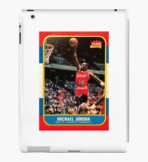 Michael Jordan Chicago Bulls NBA Basketball Rookie Card iPad Case/Skin