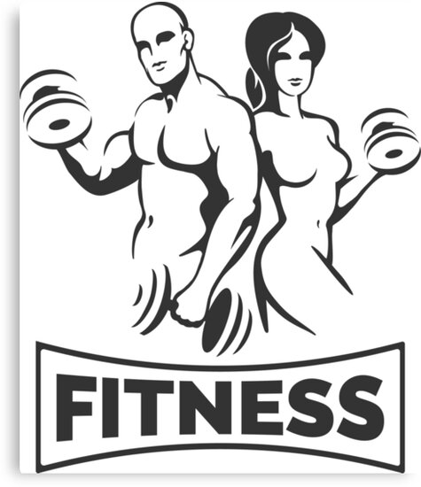 Training Bodybuilders Fitness Emblem by devaleta