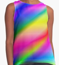 Rainbow Streaks Contrast Tank