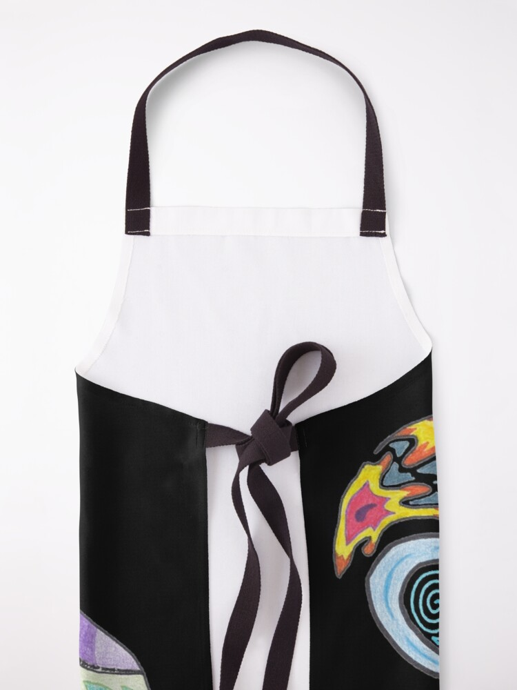 Alternate view of M.I. #9 |☽| Twirling together. Apron
