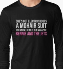 Bennie and the Jets Print Long Sleeve T-Shirt